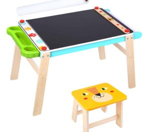 2 In 1 Chalkboard Easel Chair & Drawing Paper