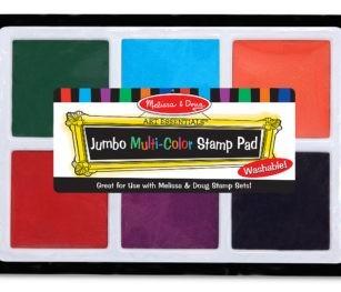 2419 Jumbo Multi Colour Stamp Pad
