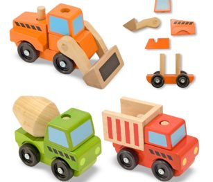 3076 Stacking Construction Vehicles