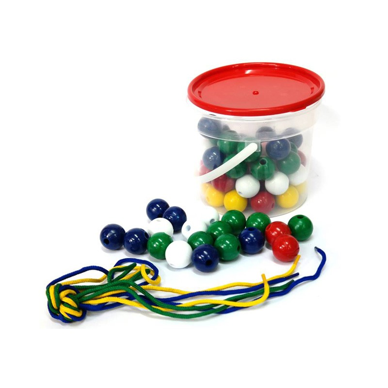 330 Bucket Of Beads Laces