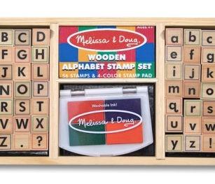 3557 Alphabet Stamp Set