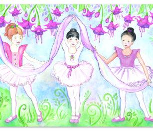 4413 Bella Ballerina Floor Puzzle