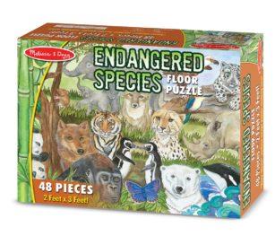 4437 Endangered Species Puzzle