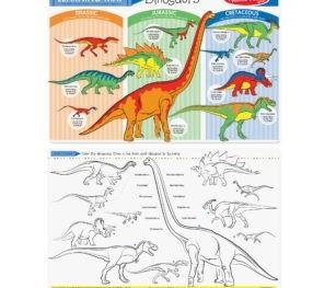 5002 Dinosaurs Mat 2015 O