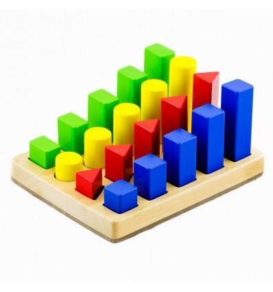 Shape sequence blocks