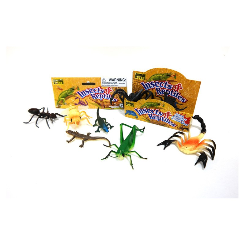552 Insects & Reptiles (bag Of 8)
