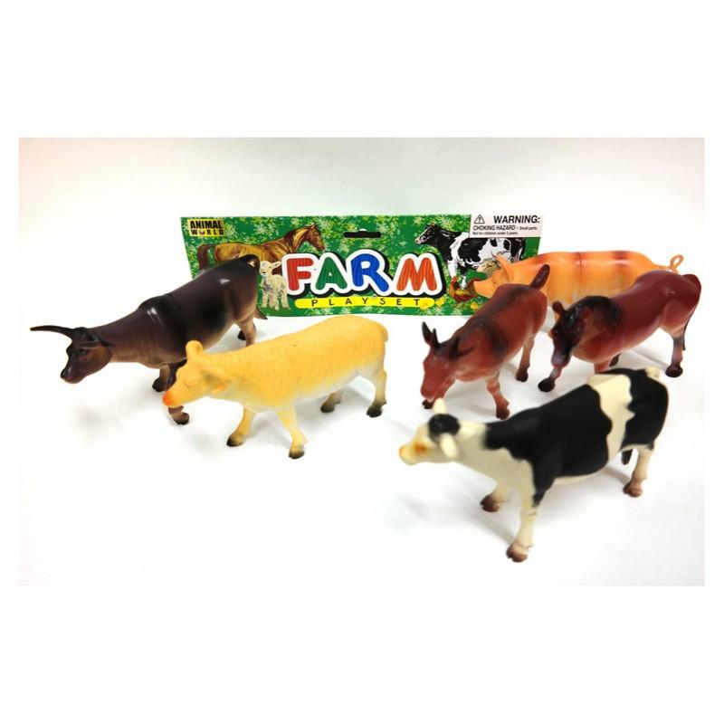 557a Big Playset Farm Animals