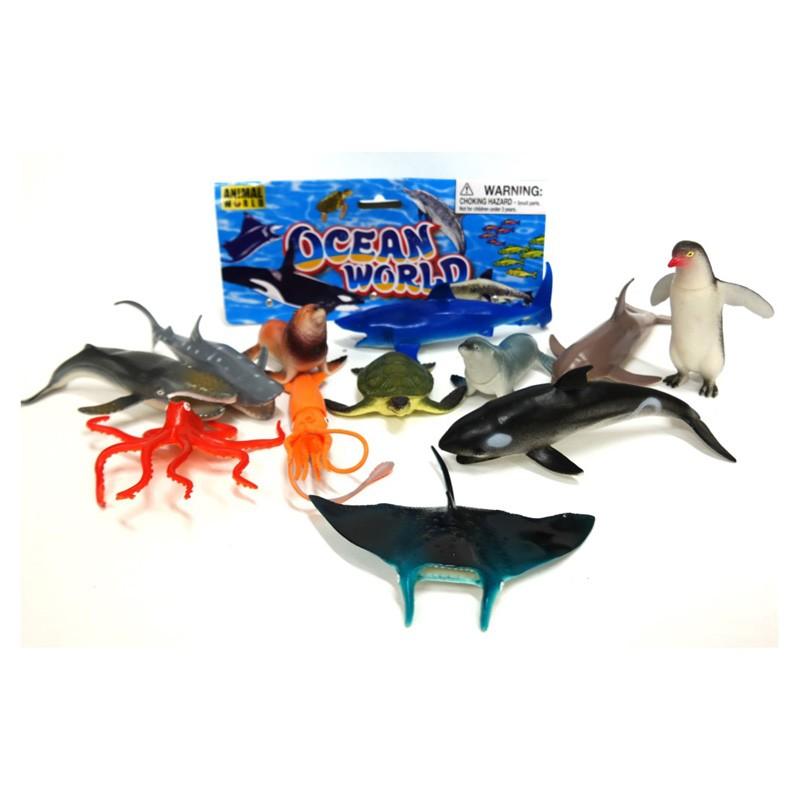 563 Sea Creatures (12 Bag)