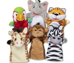 9118 6 Hand Puppet Set Safari 110718 16011 2000x2000