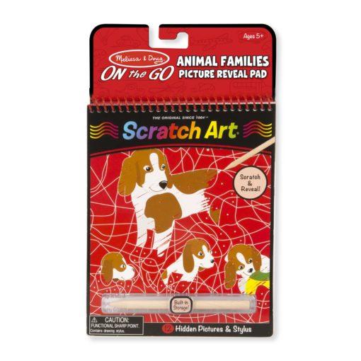 9145 Onthego Scratchart Hiddenpicturepad Animalfamilies 2000x2000
