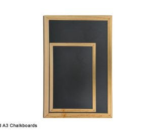 A4 And A3 Chalkboards
