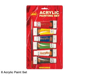 Acrylic Painting Set 6 X 30ml