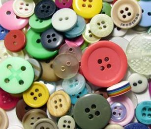 Assorted Coloured Buttons