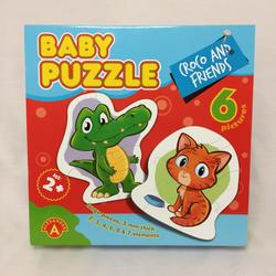 Baby Puzzle Croco And Friends