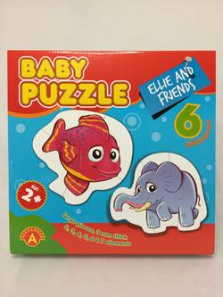 Baby Puzzle Ellie And Friends