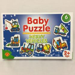 Baby Puzzle Heavy Vehicles