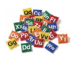 Bean Bags Alphabet Set Of 26