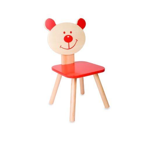 Bear Chair Red