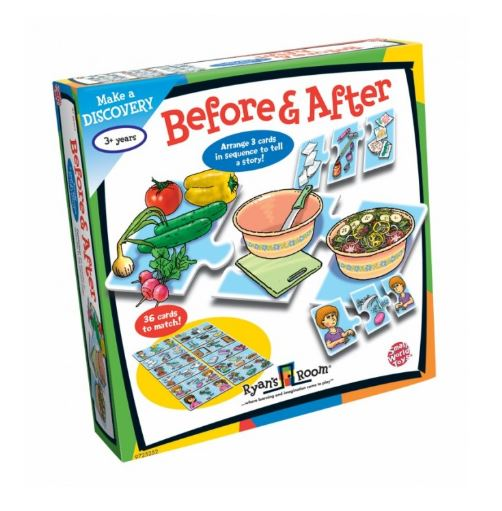 Before & After Sequencing Puzzles