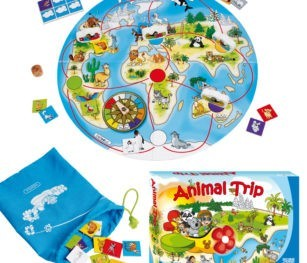 Beleduc One World Animal Trip Recognition And General Knowledge Game