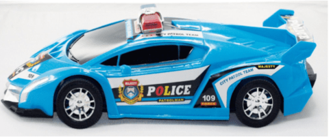 Big Police Patrol Car