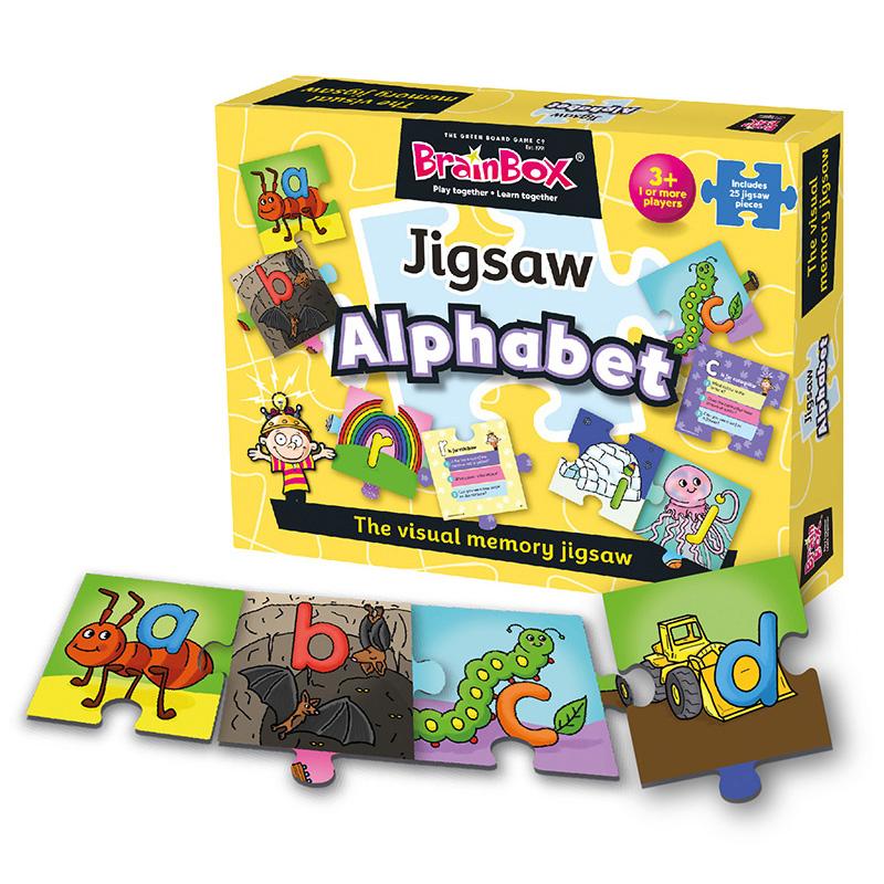 Brainbox Alphabet Jigsaw Puzzle 1