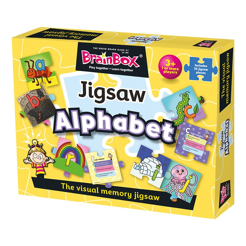 Brainbox Alphabet Jigsaw Puzzle