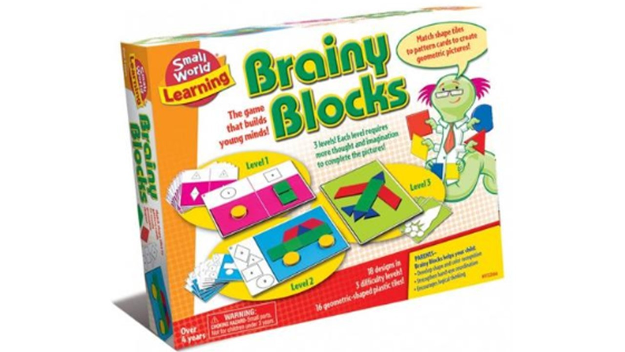 Brainy Block front of box