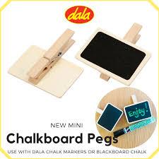 Chalkboard Pegs