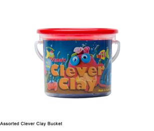 Clever Clay 6 X 20g Assorted Bucket