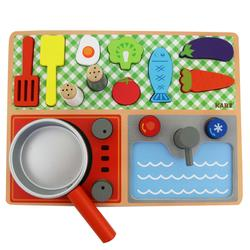 Cooking Puzzle Set (wood)