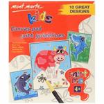 Creative Kids Canvas Pad Paint Me 25x30cm 10 Sheet