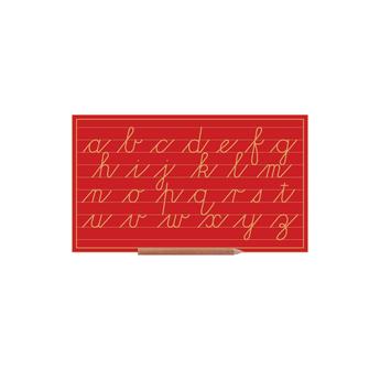 Cursive Alphabet Boards Lower Case Letters (2 Line)