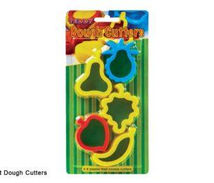 Dough Cutters 5 X Fruit