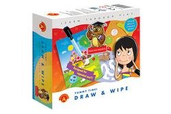 Draw And Wipe Yummy Time
