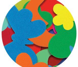 Eva Sticker Shapes 2