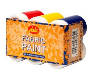 Fabric Paint Standard 6 X 30ml Kit