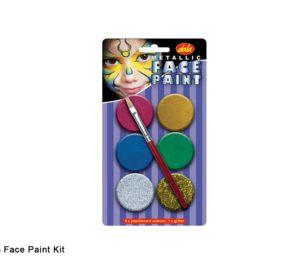 Face Paint Kit Metallic