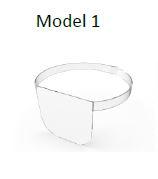 Face Shield Model E1
