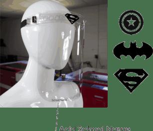 Face Shield School Model