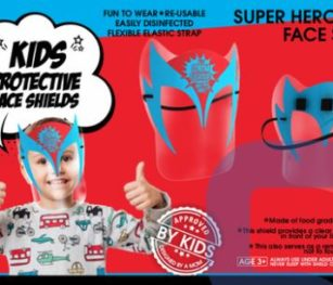 Face Shield Super Hero