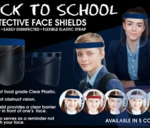 Face Shields Back To School