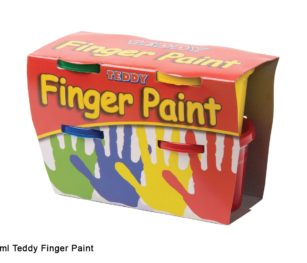 Finger Paint Kit 4 X 100ml
