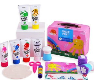 Finger Paint Kit Pink