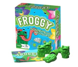 Froggy Family Memory Game