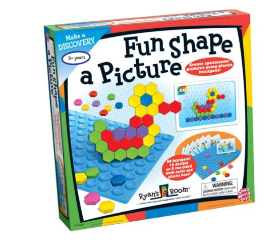 Fun Shape Pictures Mosaic Game