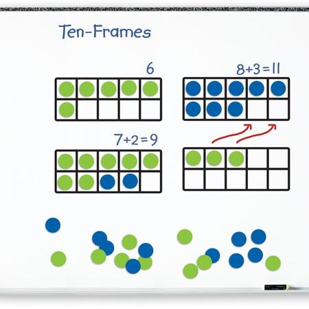 Giant Magnetic Ten Frame Set
