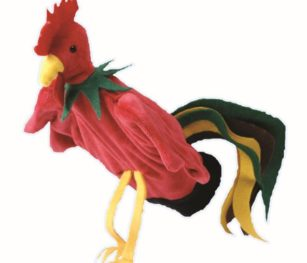 Hand Puppet Rooster
