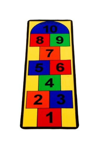 Hopscotch Carpet 2 X .67m