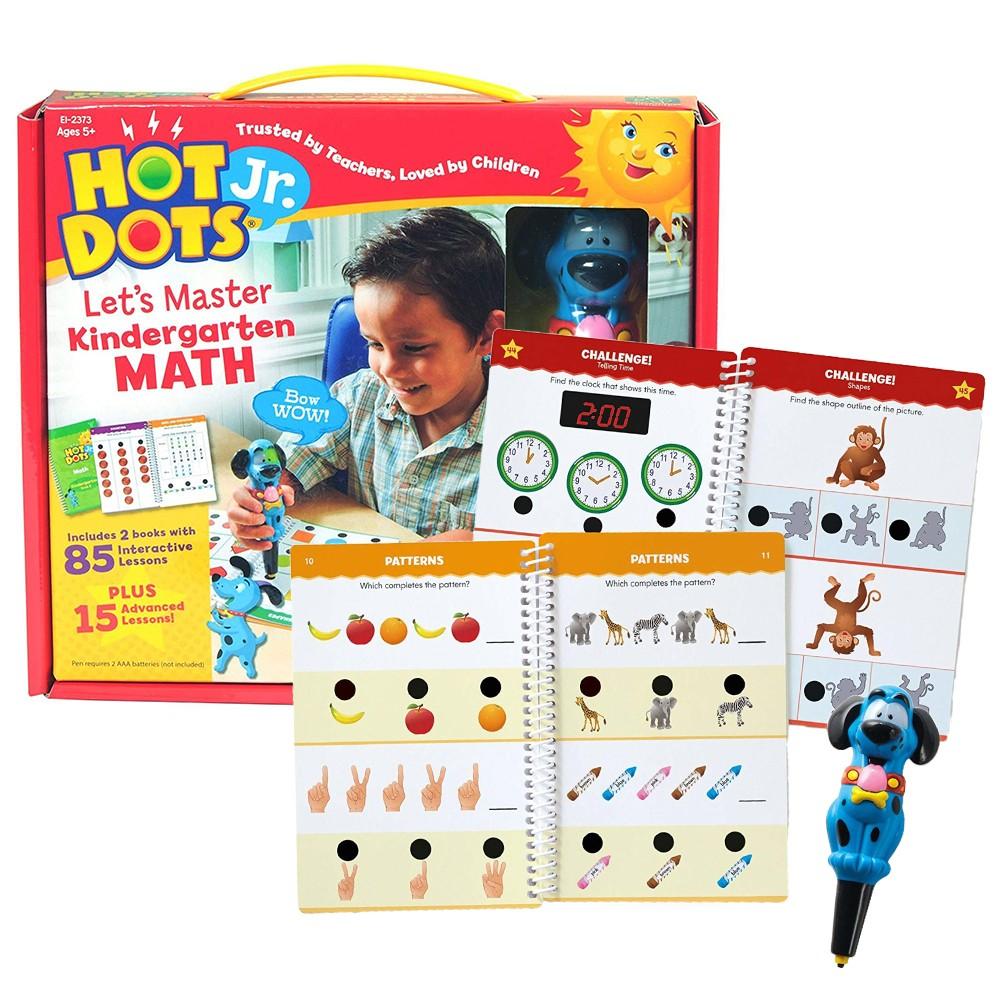 Hot Dots Jr Lets Master Kindergarten Math Set
